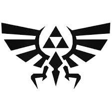 Zelda Triforce Basic Decal Sticker