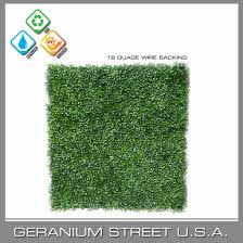 Artificial Boxwood Hedge Sheet 5 X 7 Geranium Street