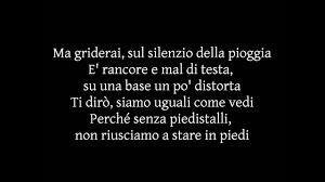 Lorenzo Fragola - Siamo Uguali (Testo) - YouTube