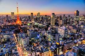Tokyo Japan Skyline Wall Decal Wallmonkeys Com