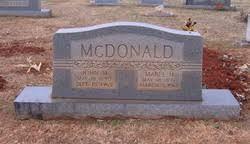 Mabel Hatchett McDonald (1897-1961) - Find A Grave Memorial