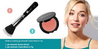 glo minerals cream blush show your glo