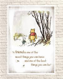 Winnie The Pooh Print Classic Pooh Pooh Wall Art Pooh Art Etsy