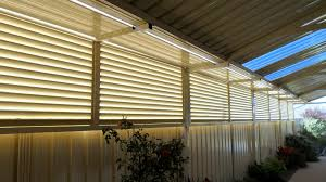 Aluminium Fixed And Adjustable Louvres Craftsman Fencing