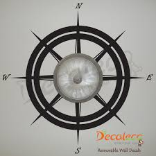Nautical Compass Wall Ceiling Decal