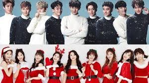 lagu natal dari idol k pop untuk meriahkan natal ada exo