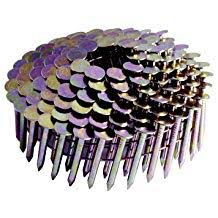 wire collated galvanized coil
