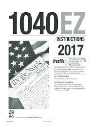 2017 2020 form irs instruction 1040 ez