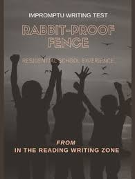 Rabbit Proof Fence Film Impromptu Writing Test Assessment Rubric