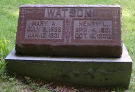 Mary Adeline Watson (Belisle) (1858 - 1931) - Genealogy