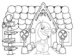 Frozens Olaf Coloring Pages Frozen Kleurplaten Kerstmis