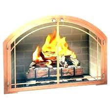 gas fireplace insert flue inserts