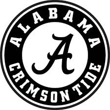 Alabama Crimson Tide Decal Sports Outdoors Decals Bumper Stickers
