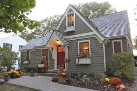 best choice for small house exterior