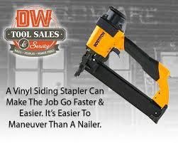 vinyl siding staplers are fast easy