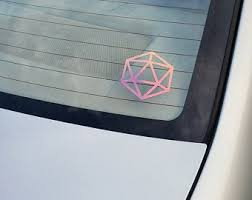 Dnd Car Decal Etsy