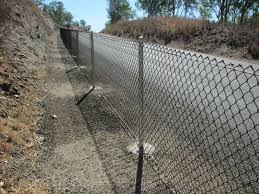 Chain Link Fence Install On Block Wall With Tie Wire On Post In 2020 Chain Link Fence Block Wall Installation