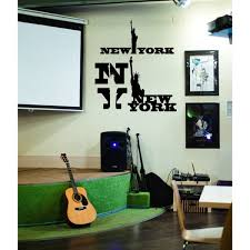 Shop The Statue Of Liberty New York City Ny Wall Art Sticker Decal Overstock 11857457