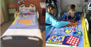 These Bedsheets Are Board Games To Keep Sick Kids Entertained Goodnet