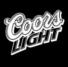 Coors Light Vinyl Sticker Decal White Co Beer Rockies Lager In 2020 Coors Light Vinyl Sticker Coors