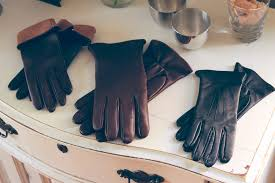 bespoke custom leather gloves