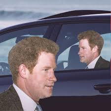 Ride With Prince Harry Car Decal Right Facing What On Earth Cw2232