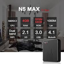 Android TV Box Magicsee N5 Max – Android 9.0, Chip Amlogic S905X3