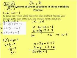 3 4 solve systems of linear equations