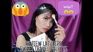 review latulipe sweet travel palette
