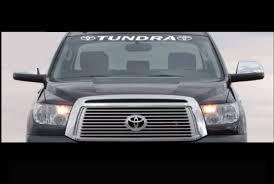 Toyota Tundra Windshield Banner Decal Sticker With Logos Custom Sticker Shop
