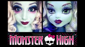 monster high frankie stein makeup