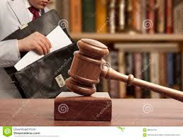 Caucasian lawyer in court stock image. Image of businessman - 68204159