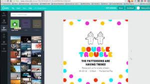 Como Hacer Invitaciones De Cumpleanos Online Gratis Youtube