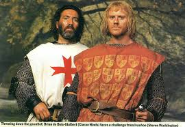 "Ciaran Hinds with Steven Waddington from ""Ivanhoe"" (1997) 