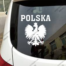 Buy Polish Eagle Sticker Car And Get Free Shipping On Aliexpress Com