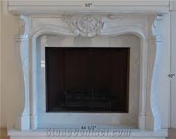 jade marble fireplace mantel surround