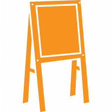 Easel Activity Kids Room Drawing Art Icon