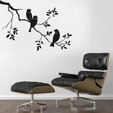 Awesome Black Birds Wall Stickers Wall Decals Decalsdesignindia