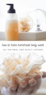 how to make natural body wash our