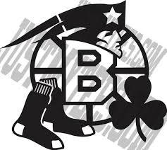 Boston Sports Window Decal Bruins Patriots Celtics By Justmytees Boston Sports Patriots Boston Strong