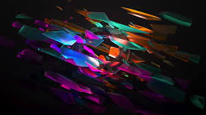 abstract colorful shape 4k hd abstract