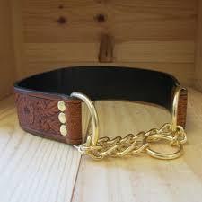 leather dog collars dog