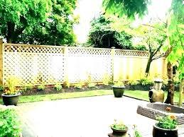 Small Yard Fence Small Garden Fence Ideas Wanderinc Co