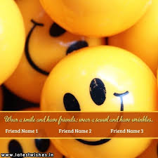 smiley smile friendship quotes friend