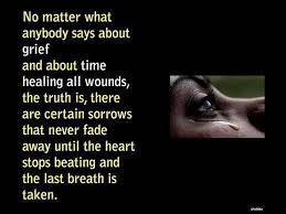 quotes about time healing grief quotes