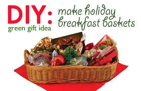 diy gift idea holiday breakfast basket