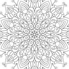 Kleurplaten Voor Volwassenen Antistress Mandala Tattoo Stijl T