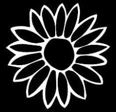 Amazon Com Sunflower Decal Vinyl Sticker Cars Trucks Vans Walls Laptop White 5 5 X 5 5 In Lli170 Automotive