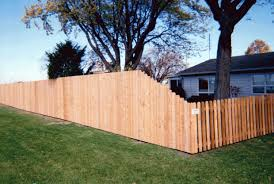 Dog Ear Privacy Fence Tapered To Dog Ear Space Picket Fence Dog Ear Fence Fence Design Fence Gate Design