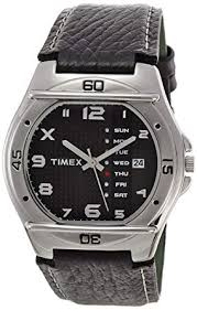timex fashion og black dial men